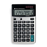 Calculatrice De Bureau Texas Instruments TI 5018 SV 105 mm Noir, Argent