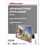 Papier photo jet d'encre Office Depot Advanced Brillant 280 g