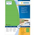 Étiquettes universelles HERMA 4559 105 x 42 mm 100 Feuilles de 14 Étiquettes