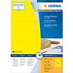 Étiquettes universelles HERMA 4555 105 x 42 mm 100 Feuilles de 14 Étiquettes
