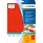 Étiquettes universelles HERMA 8325 50 x 142 mm 20 Feuilles de 8 Étiquettes