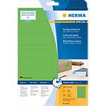 Étiquettes universelles HERMA 4554 105 x 37 mm 20 Feuilles de 16 Étiquettes