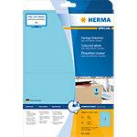 Étiquettes universelles HERMA 4498 199,6 x 143,5 mm 20 Feuilles de 2 Étiquettes