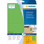 Étiquettes universelles HERMA 4499 199,6 x 143,5 mm 20 Feuilles de 2 Étiquettes