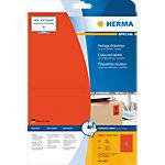Étiquettes universelles HERMA 4497 199,6 x 143,5 mm 20 Feuilles de 2 Étiquettes