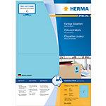 Étiquettes universelles HERMA 4568 199 x 143 mm 100 Feuilles de 2 Étiquettes