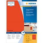 Étiquettes universelles HERMA 4567 199 x 143 mm 100 Feuilles de 2 Étiquettes