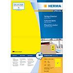 Étiquettes universelles HERMA 4565 199 x 143 mm 100 Feuilles de 2 Étiquettes