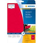 Étiquettes universelles HERMA 5156 60 x 60 mm 20 Feuilles de 12 Étiquettes