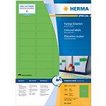 Étiquettes universelles HERMA 4549 45 x 21 mm 100 Feuilles de 48 Étiquettes