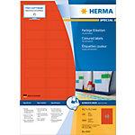 Étiquettes universelles HERMA 4545 45 x 21 mm 100 Feuilles de 48 Étiquettes