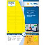 Étiquettes universelles HERMA 4544 45 x 21 mm 100 Feuilles de 48 Étiquettes