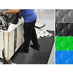 Tapis de protection pastillé etm PVC Noir 120 x 100 cm