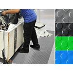 Tapis de protection pastillé etm PVC Gris 120 x 300 cm