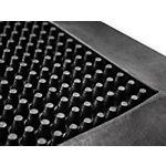 Tapis antifatigue etm Pro Brush Caoutchouc Noir 600 x 1000 mm