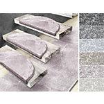 Tapis d'escalier d'escalier FLOORDIREKT STEP Sundae Semi circulaire PP Rose 12 2 350 x 650 mm