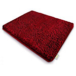 Tapis de salle de bains Sky PS, microfibres Rouge 1 200 x 700 mm
