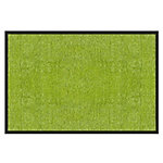 Tapis d'entrée Color Your Life Rhine Citron vert 2,000 x 6,000 mm
