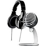 Casque et microphone Shure Noir Argenté
