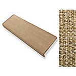 Tapis d'escalier FLOORDIREKT STEP Sylt Rectangulaire Sisal Brun