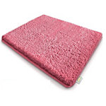 Tapis de bain Sky Polyester, microfibre Rose 800 x 500 mm
