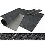 Tapis de sécurité etm PES, PVC Antidérapant Gris 1 200 x 2500 mm