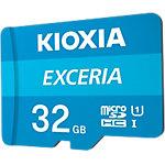 Carte mémoire microSD KIOXIA Exceria U1 Class 10 32Go