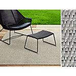 Tapis d'extérieur Casa Pura Turin Beige Polyester, vinyle 1000 x 900 mm
