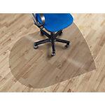 Tapis protège sol Floordirekt Pro pour sols durs Transparent 1260 x 970 mm