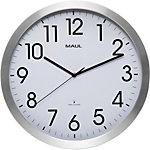 Maul Horloge murale MAULmove 40 x 3,5 cm Blanc, argenté