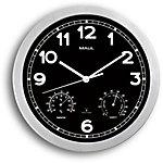 Maul Horloge murale MAULdrive 30 x 2,5 cm Noir