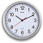 Maul Horloge quartz MAULrun Argent, blanc
