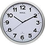 Maul Horloge murale MAULstep 40 cm Argent, blanc