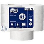 Rouleaux de papier toilette Tork T1 Advanced 2 couches 6 rouleaux de 1 800 feuilles