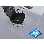 Tapis protège sol Floordirekt Pro Neo pour moquette Transparent Vinyle 1300 x 1200 mm