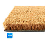 Tapis de sol PALMERAS Coconut nature 800 x 1,000 mm