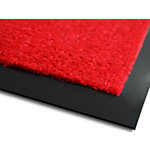 Tapis de porte Sky Dirt Trapper Monochrome Rouge 900 x 1,500 mm