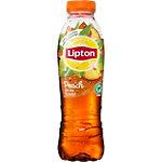 Thé glacé Lipton Pêche 12 Bouteilles de 500 ml
