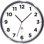 Alba Horloge murale Horextra 35,5 x 4,4 cm Argenté