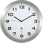 Alba Horloge murale 38 x 5,5 cm Argenté