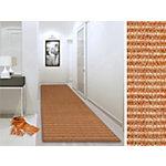 Tapis FLOORDIREKT STEP Sylt Orange Sisal 2500 x 500 mm