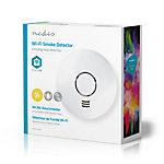 Détecteur de fumée et d'augmentation de la température NeDIS Smart Wi Fi Blanc