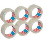 Ruban adhésif d'emballage tesapack Fort Low noise 50 mm x 66 m Transparent 6 rouleaux de 66 m