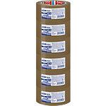 Ruban adhésif d'emballage tesapack Strong 50 mm x 66 m Marron 6 Rouleaux de 66 m