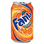 Fanta Orange Canette 24 Unités de 330 ml