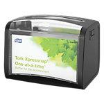 Distributeur de serviettes Tork N4 Xpressnap Plastique À poser sur la table Noir 201 x 155 mm