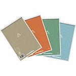 Bloc Steno AURORA Gris Ligné A5 60 g