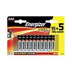 Piles Energizer LR03 AAA 20 Unités