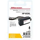 Cartouche jet d'encre Office Depot Compatible HP 953XL Noir L0S70AE