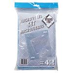 Chiffons Vileda 022621 Microfibre Blanc 4 Unités